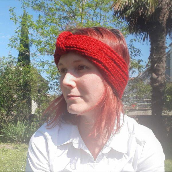 bandeau-fait-main-avec-nœud-couleur-rouge