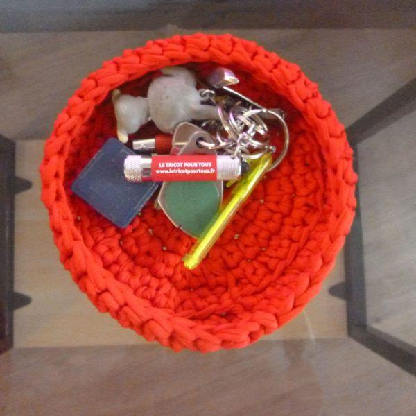 corbeille-coton-recycle-couleur-rouge-taille-l-dedans-clé