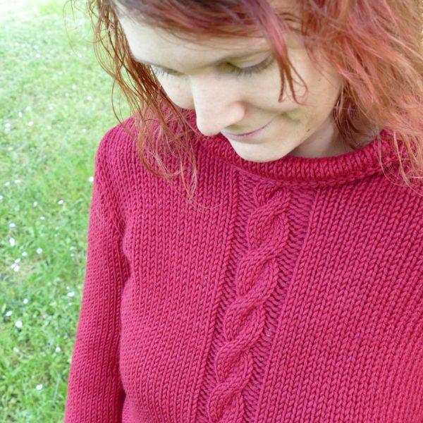 Pull-fait-main-modele-Cu-couleur-rouge-22