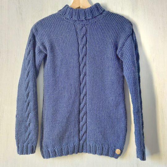 Pull-fait-main-modele-Ni-couleur-bleu-1