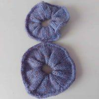 chouchou-fait-main-tricot-deux-tailles