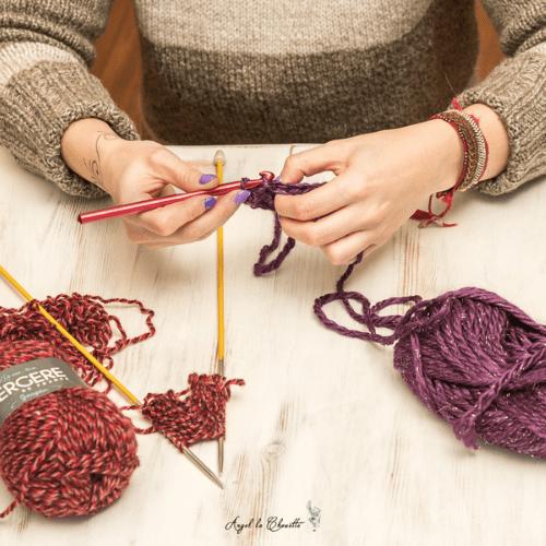 cours de tricot et de crochet, bordeaux et alentour