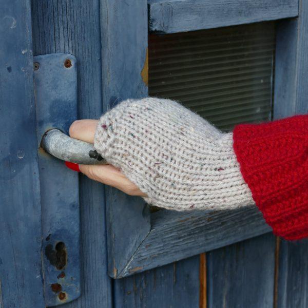 mitaines tricotées